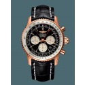 Breitling Navitimer 1 B03 Chronograph Rattrapante 45 Red gold Limited Black WJ00551