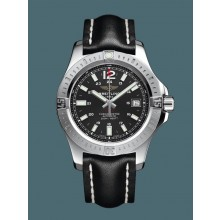 AAA Breitling Colt 41 Automatic Steel Volcano Black WJ01290