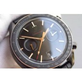 Omega Speedmaster Moonwatch Co-Axial Chronograph Sedna Black Leather Omega WJ00067